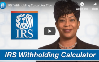 IRS withholding
