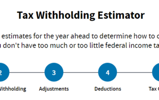 Tax Withholding Estimator