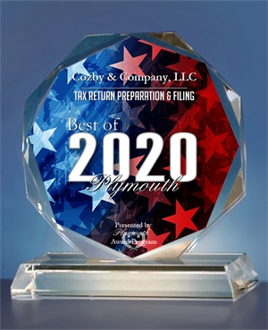 Best of 2020 Plymouth award
