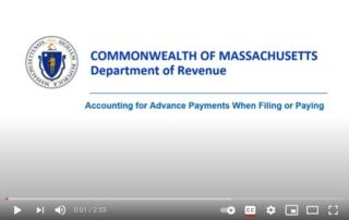 advance payments